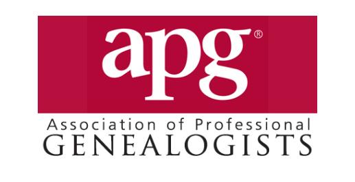 APG Association of Professional Genealogists logo