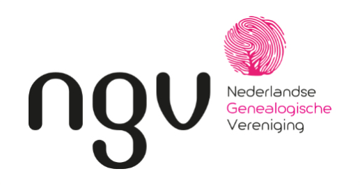 NGV Nederlandse Genealogische Vereniging logo