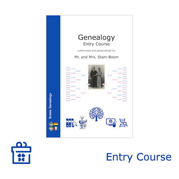 Genealogy Entry Course Gift